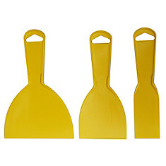 Ensemble 3 spatules en plastique, (1