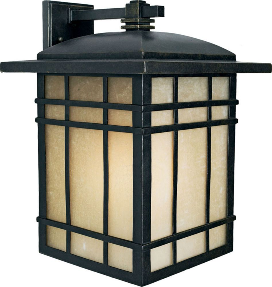 Monroe 1-Light Imperial Bronze Outdoor Wall Lantern