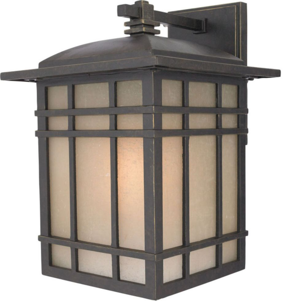 Monroe 1 Light Imperial Bronze Outdoor Compact Florescent Wall Lantern
