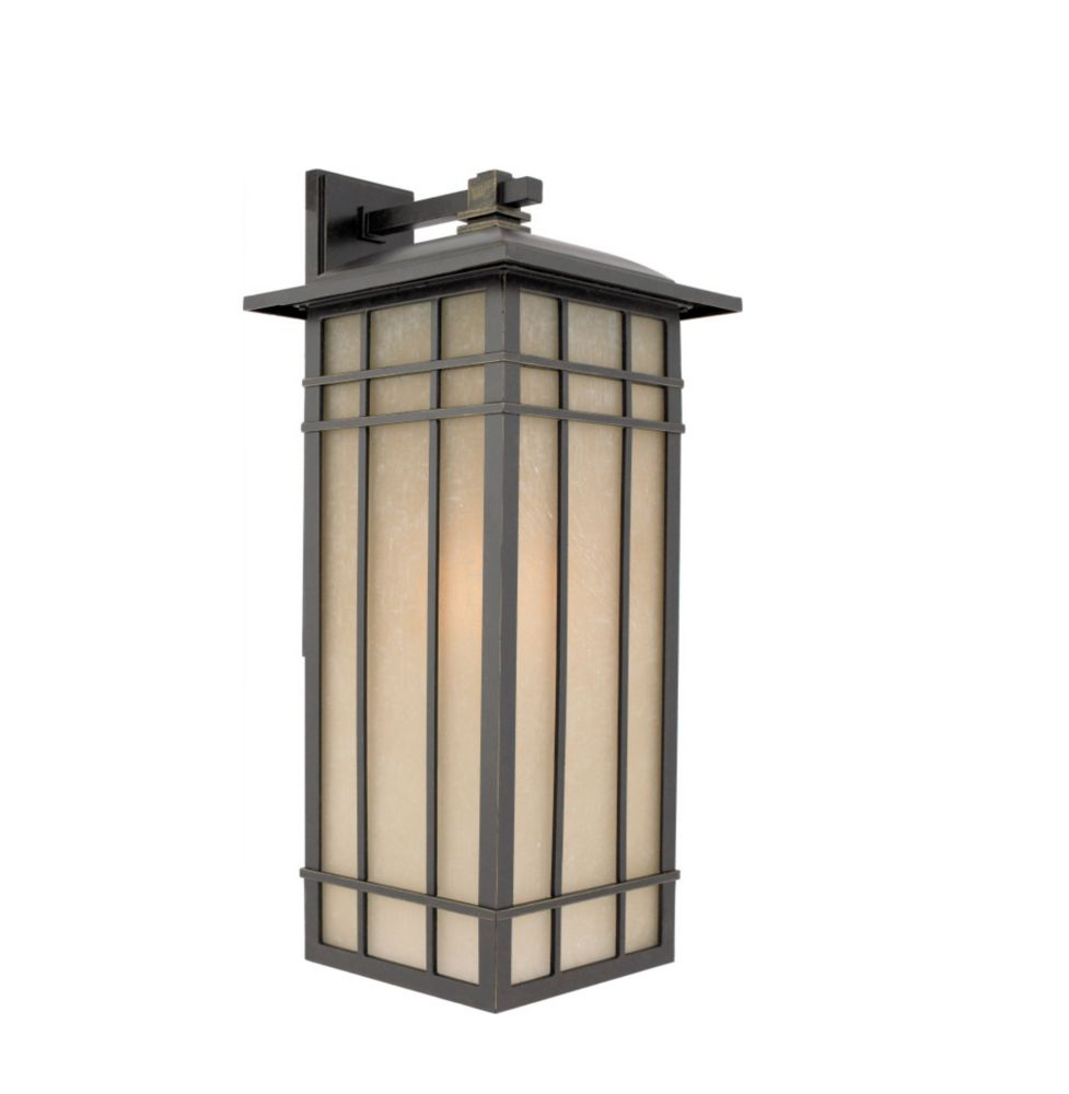 Monroe 1 Light Imperial Bronze Outdoor Incandescent Wall Lantern