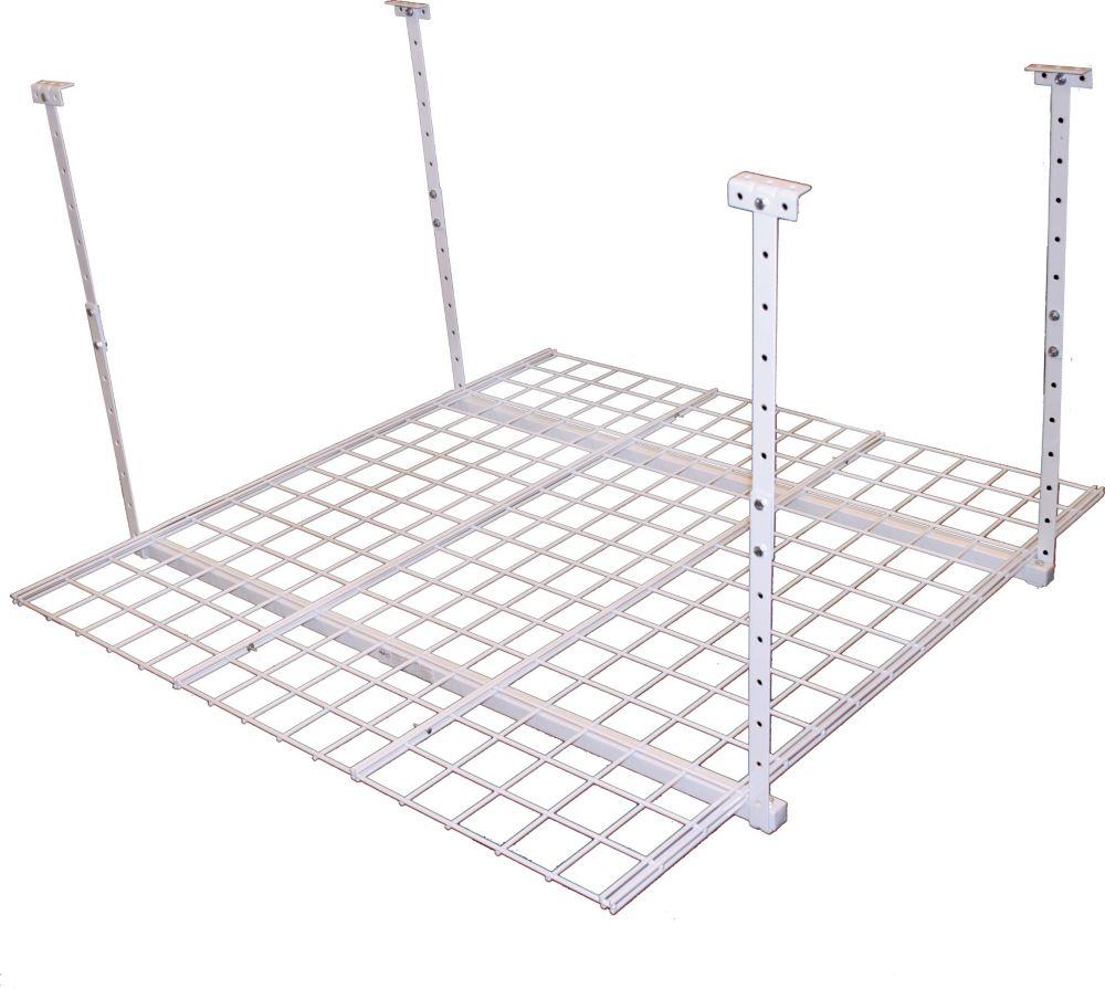 Hanging Storage unit (45X45 white finish)