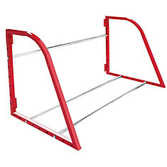 36-inch to 48-inch 375 lb. Capacity Adjustable Width Tire Rack in Red