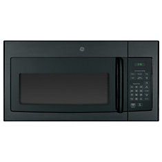 GE Black 1.6 CF Over-The-Range Microwave Oven