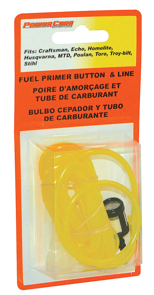 Power Care Fuel Filter with Primer & Line