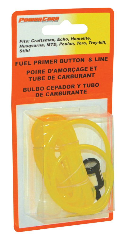 Fuel Filter With Primer & Line