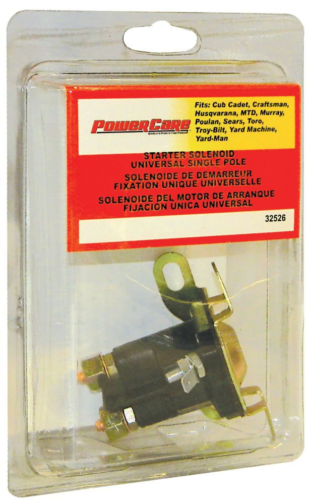 Solenoid Single Pole