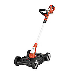 12-inch 20V MAX Li-Ion Cordless 3-in-1 String Trimmer/Edger/Mower w/ (2) 2.0 Ah Batteries and Charger Included