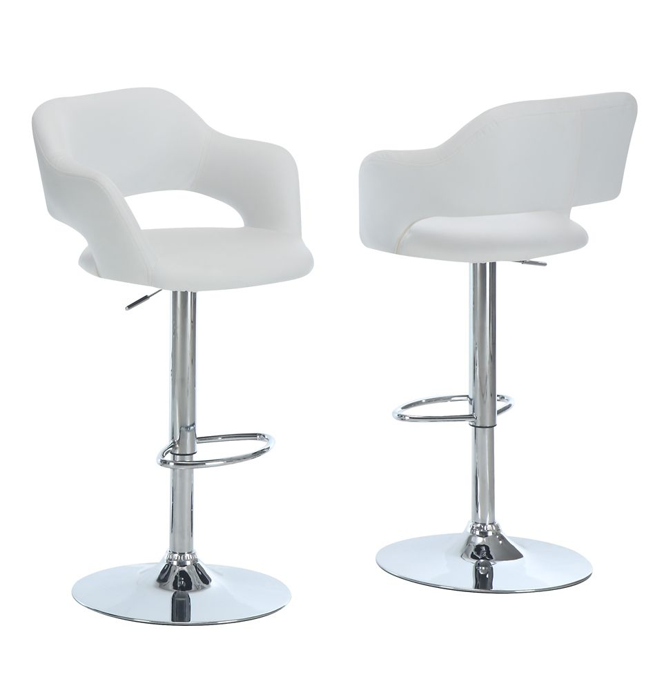 how tall are bar stools. Barstool With Hydraulic Lift In White \u0026 Chrome How Tall Are Bar Stools R