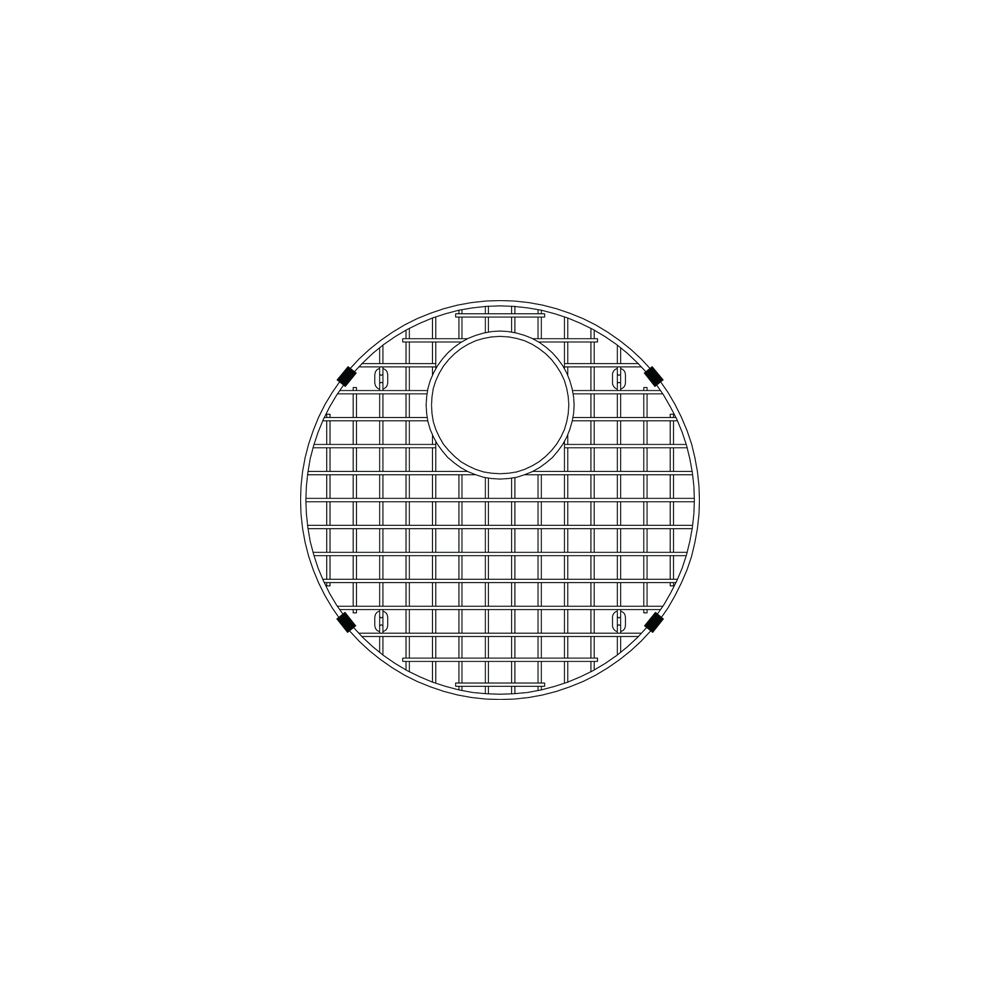 Blanco Precis Sink Grid Ss, Stainless Steel