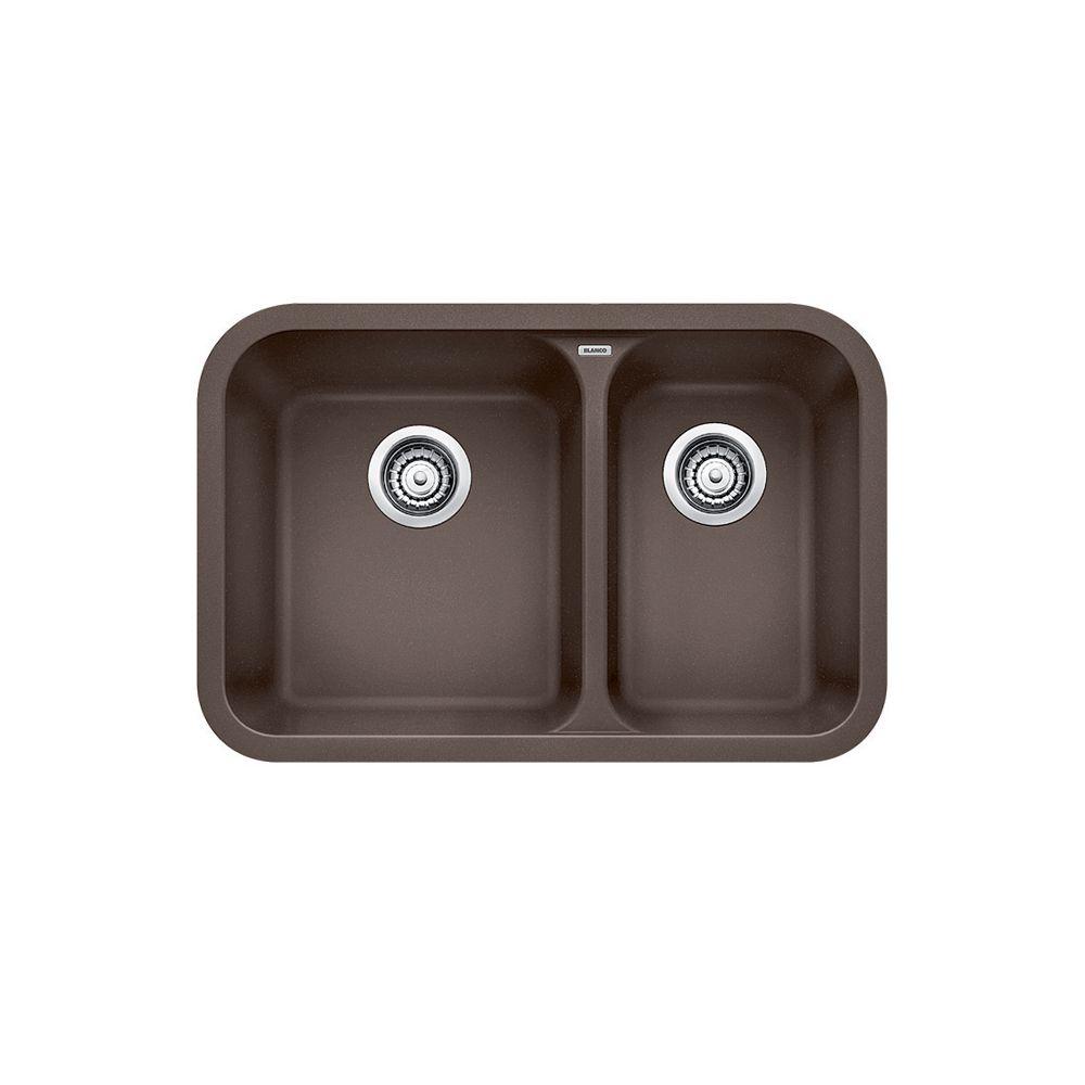 Blanco Vision U 1.5 Bowl Undermount Kitchen Sink, SILGRANIT Granite  Composite | The Home Depot Canada