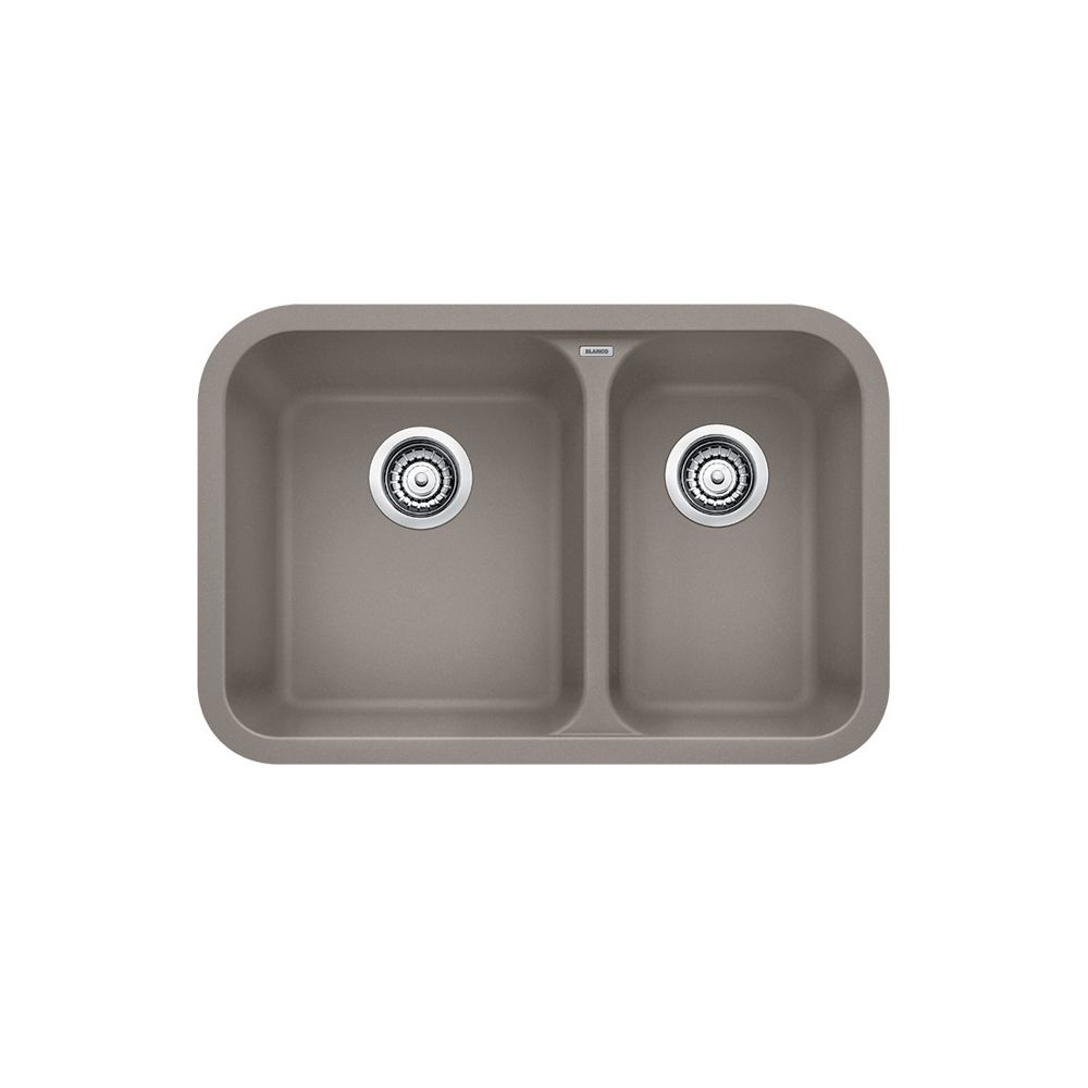 Silgranit, Natural Granite Composite Undermount Kitchen Sink, Truffle SOP1273 Canada Discount