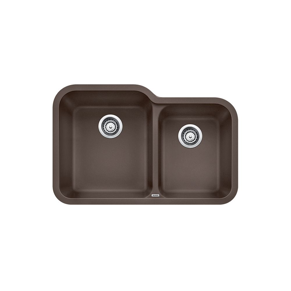 Silgranit, Natural Granite Composite Undermount Kitchen Sink, Café