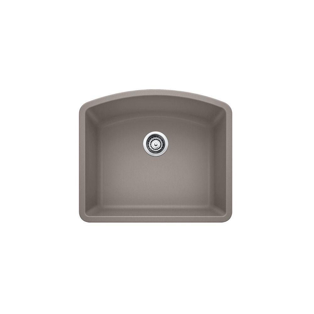 ... Composite Undermount Kitchen Sink, Truffle SOP1292 Canada Discount