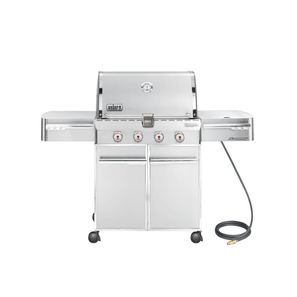 Summit<sup>®</sup> S-420� Natural Gas BBQ