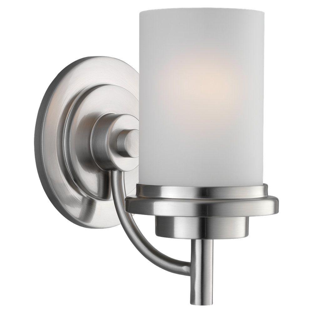 Lumière Seagull fixée au mur à une ampoule avec abat-jour de spécialité, finition de spécialité