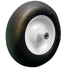 Flat Free Wheel Barrow Wheel Assembly