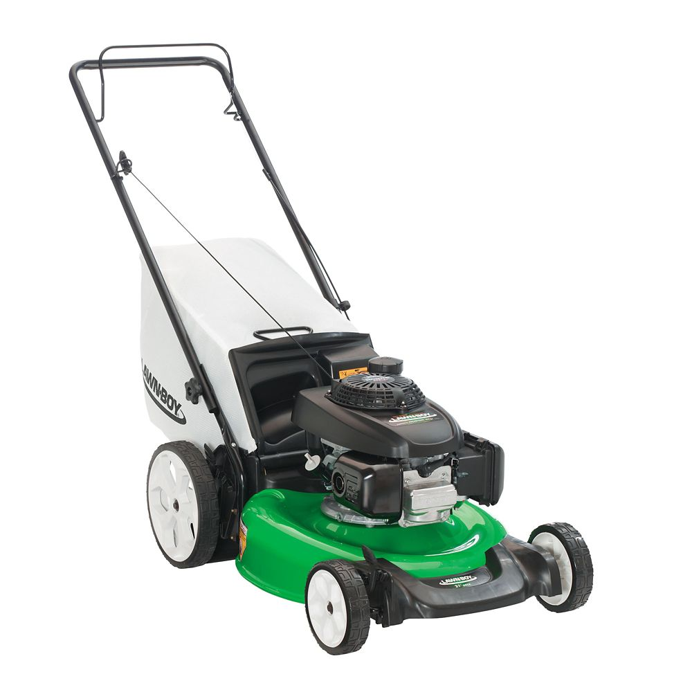 21 -inch Honda Engine High Wheel Push Walk-Behind Gas Lawn Mower