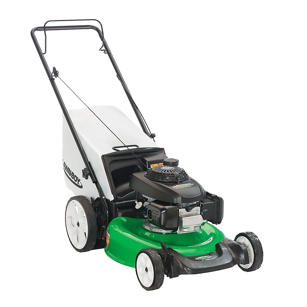 21-inch Gas-Powered Push Lawn Mower with Honda 160 OHC Engine