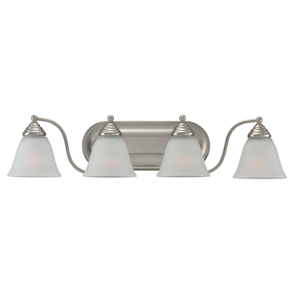 Lumière Seagull fixée au mur à quatre ampoules avec abat-jour de spécialité, finition de spéciali...