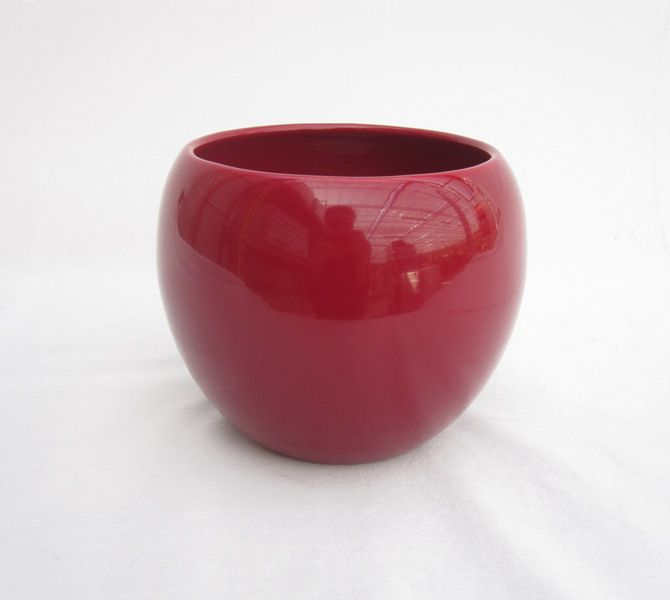Pot Ceramique Rouge 4,5 Po