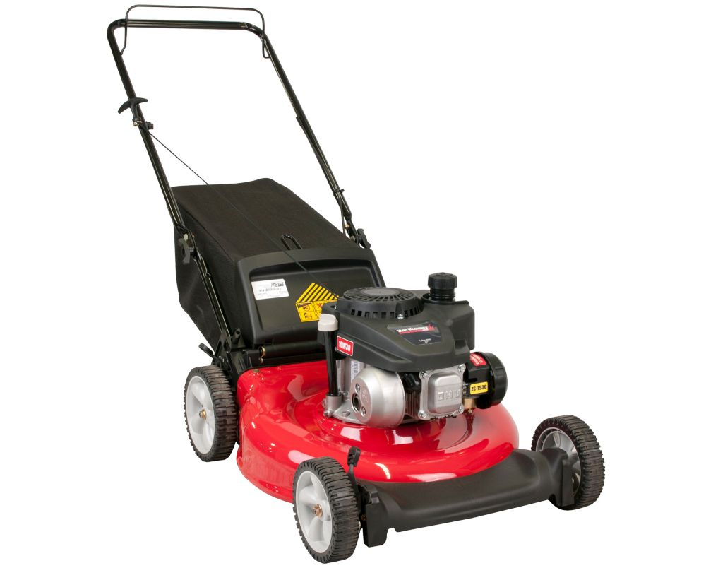 21-inch Powermore Gas 2-in-1 Push Lawn Mower with Rear Bag