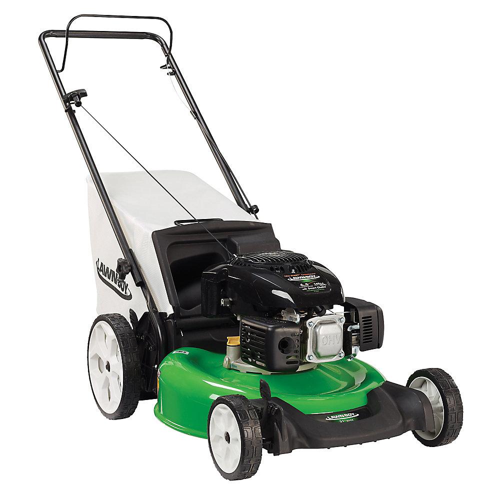 21-inch Gas Push Lawn Mower with High Wheels
