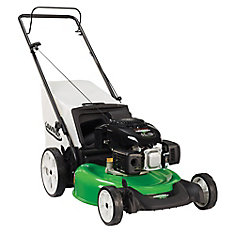 21-inch Gas Push Lawn Mower with High Wheels