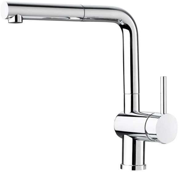 Single-Lever Pull-Out Faucet, Chrome