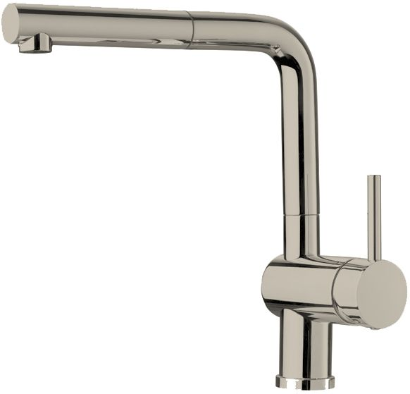 Single-Lever Pull-Out Faucet, Stainless Steel