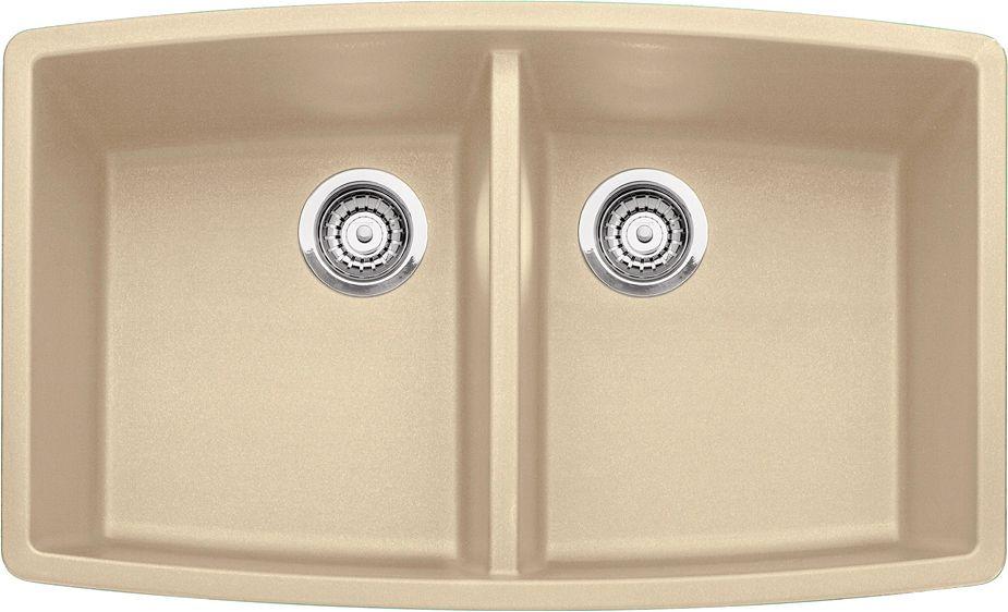 Silgranit, Natural Granite Composite Undermount Kitchen Sink, Biscotti