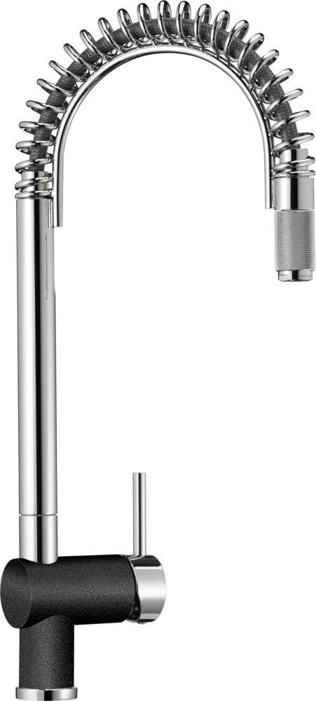 Semi-Pro Faucet, Chrome/Anthracite
