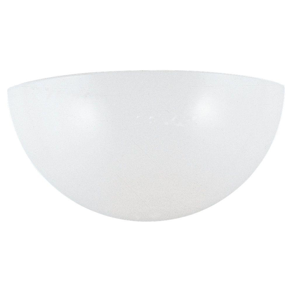 1 Light White Fluorescent Bathroom Vanity