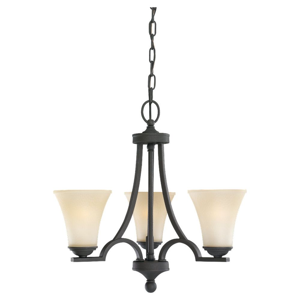 3-Light Blacksmith Chandelier