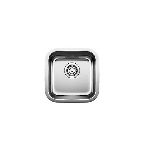 Stellar U Bar and Prep Sink, Undermount, Stainless Steel