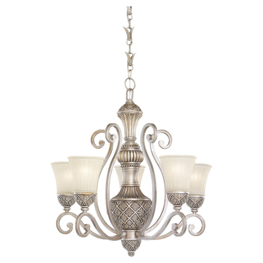 5-Light Palladium Chandelier