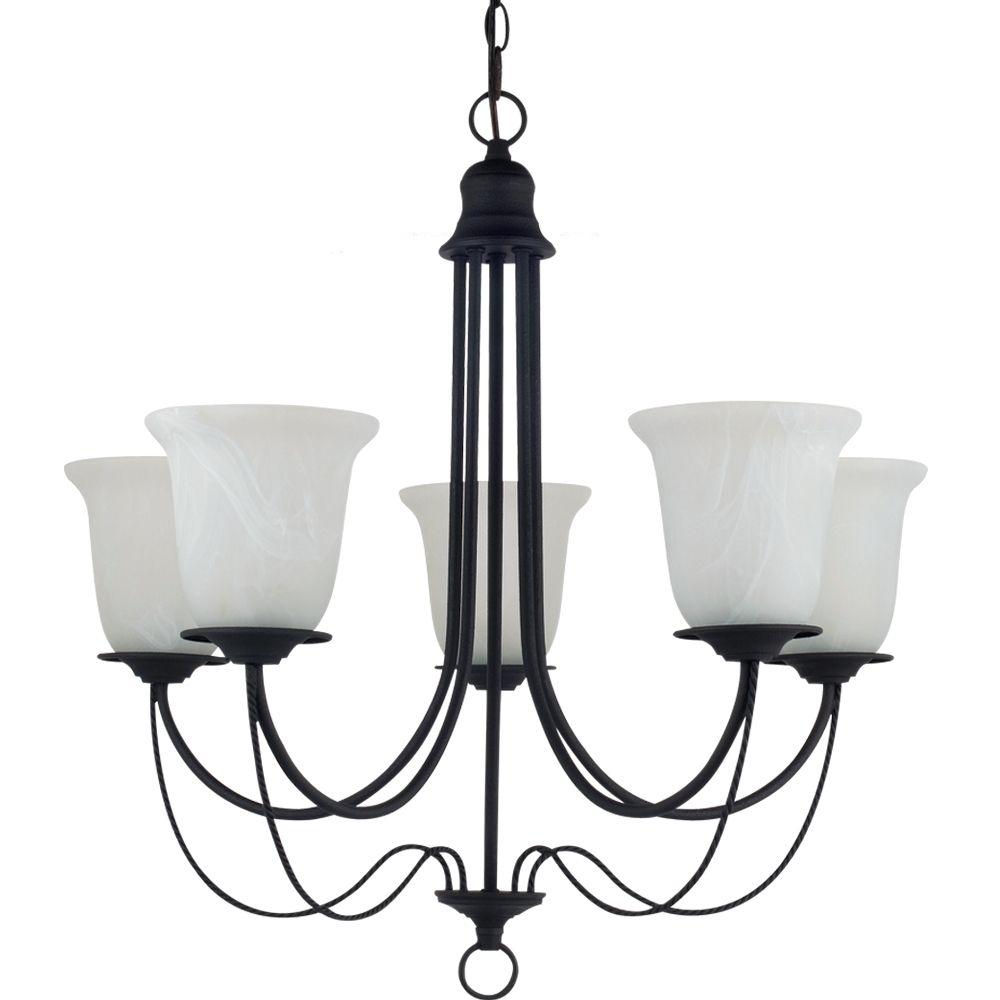 5-Light Blacksmith Chandelier