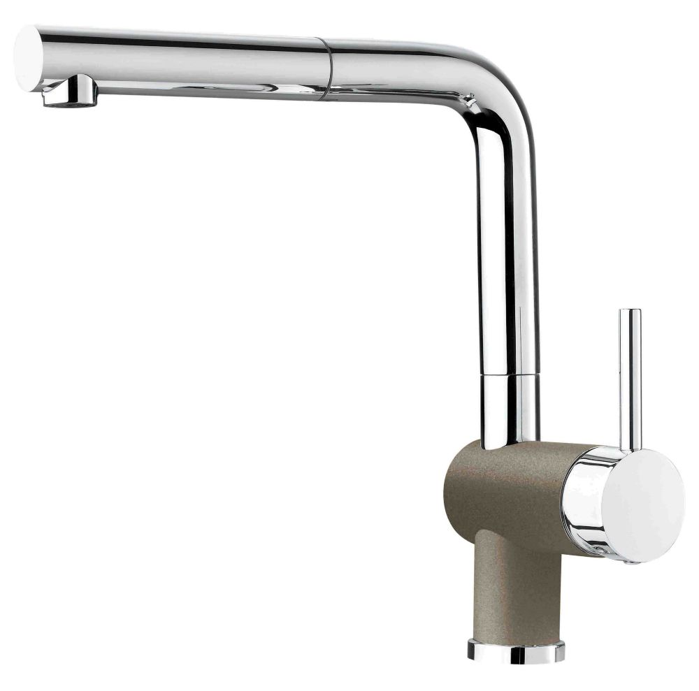 Pull-Out Faucet Chrome/Truffle