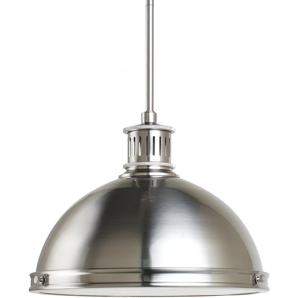 Sea Gull Lighting 2 Light Brushed Nickel Pendant