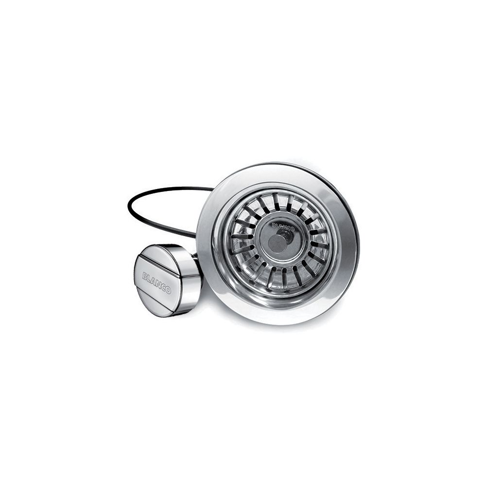 Stainless Steel Pop-Up Basket Strainer