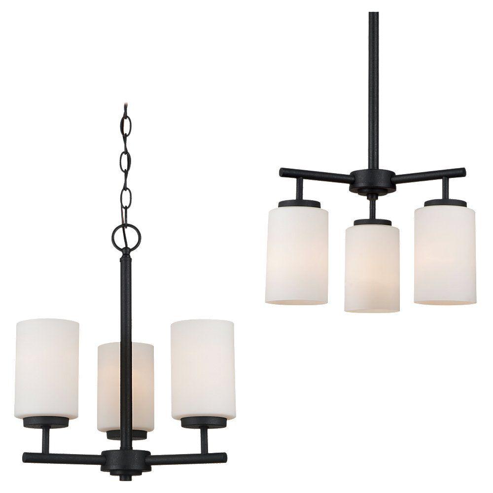 3 Light Blacksmith Incandescent Chandelier