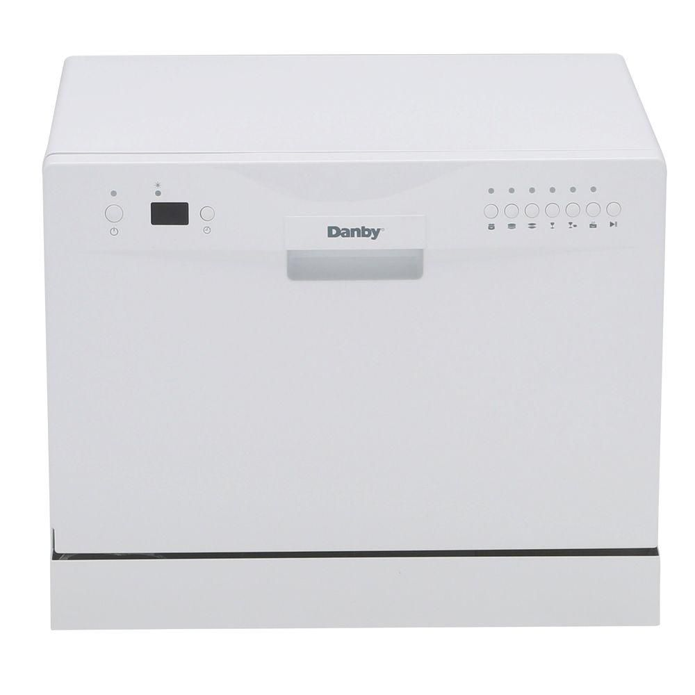 24-inch Countertop Dishwasher in White