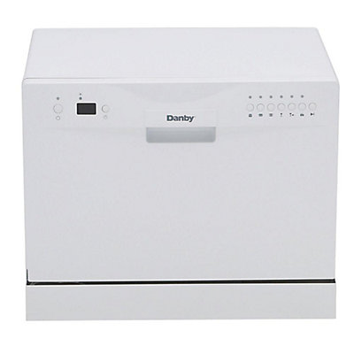 dish sunpentown itm machine silver countertop dishwasher stainless portable steel mini washing
