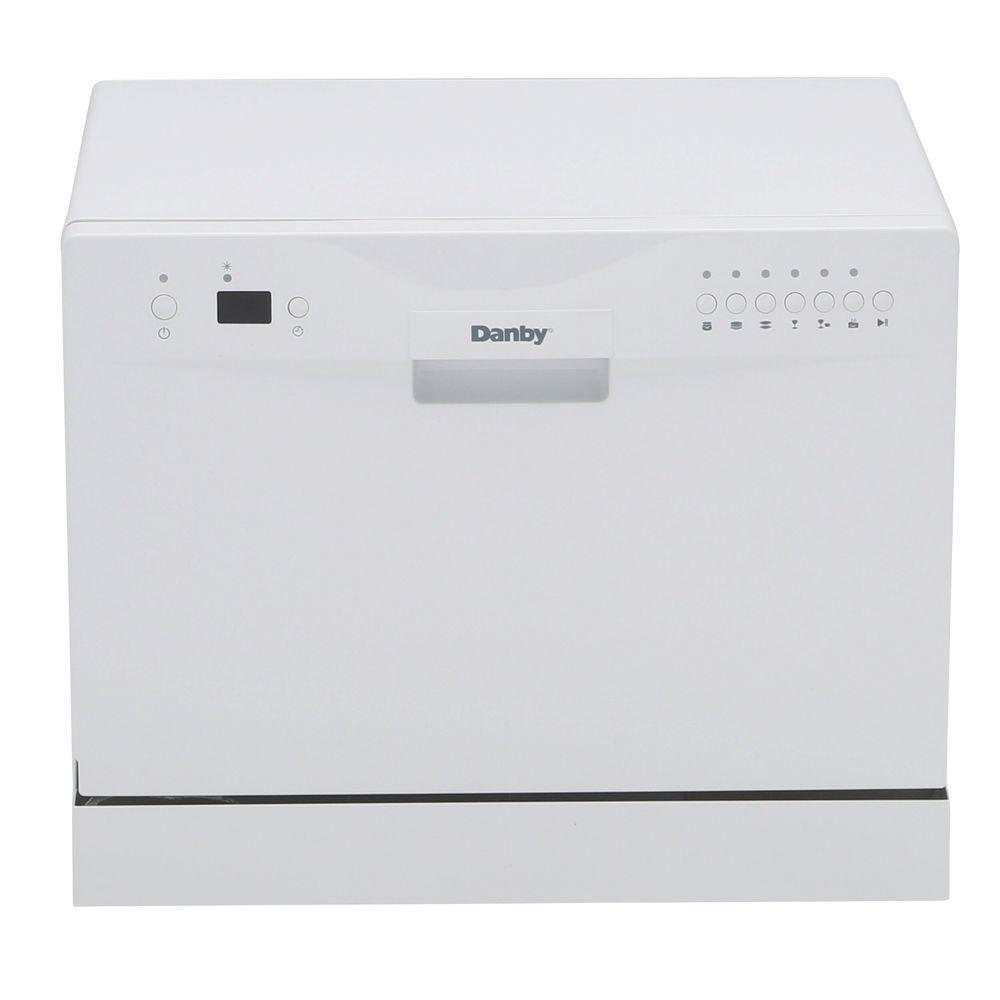 Danby 24-inch Countertop Dishwasher in White