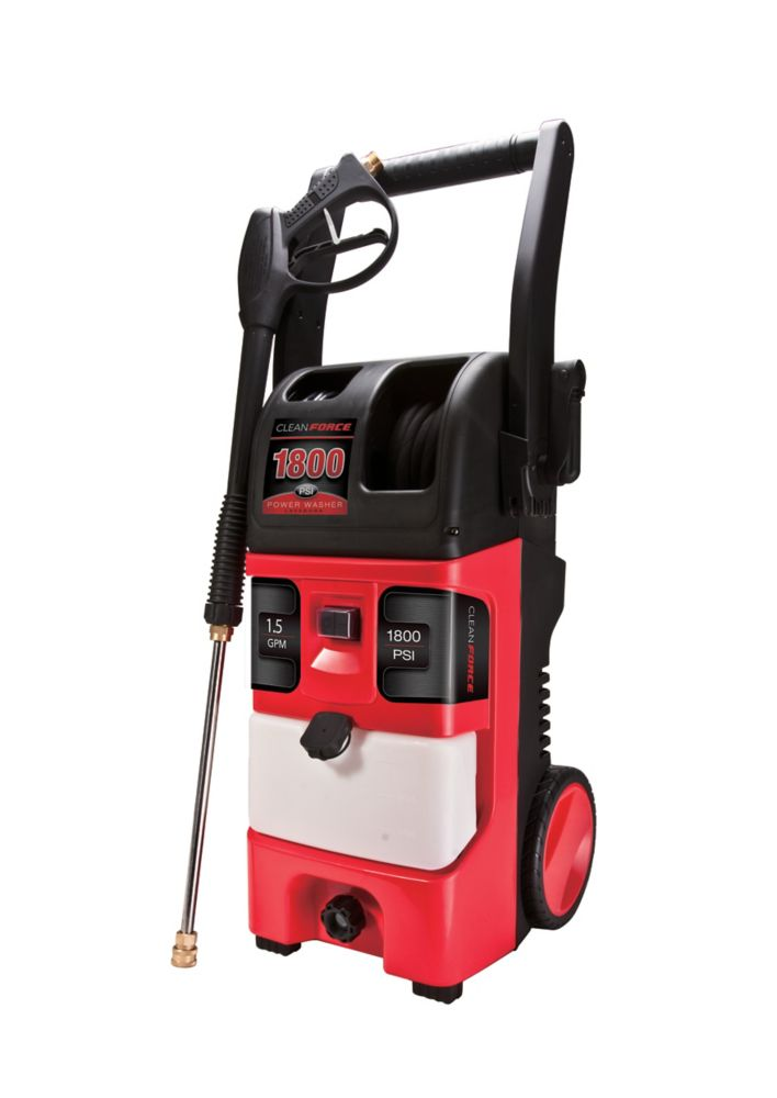 Electric Power Washer - 1800 PSI