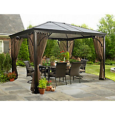 Venetia 10 ft. x 12 ft. Sun Shelter with Mosquito Net