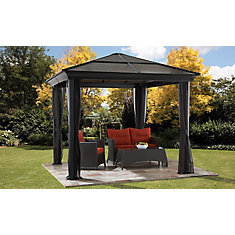 St. Paul 10 ft. x 10 ft. Sun Shelter with Mosquito Netting