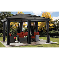St. Paul 12 ft. x 16 ft. Sun Shelter with Mosquito Netting