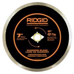 RIDGID 7 Inch Continuous Rim Diamond Blade