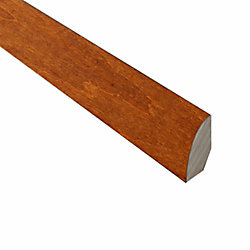 QEP Carmine and Umber Cork- .75 in Wide x 78-inch Length Quarter Round Molding