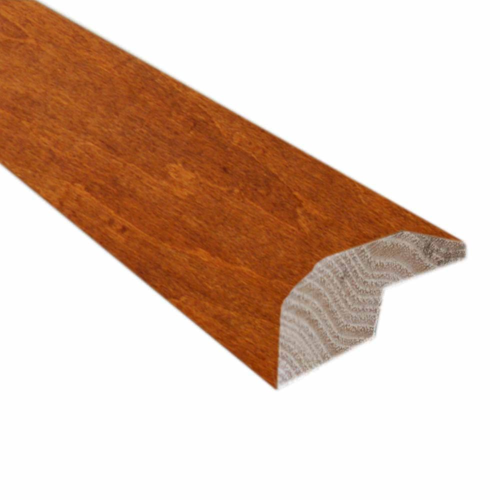 Carmine and Umber Cork- 2 Inch Wide x 78 Inch Length Carpet Reducer/Baby Threshold Molding